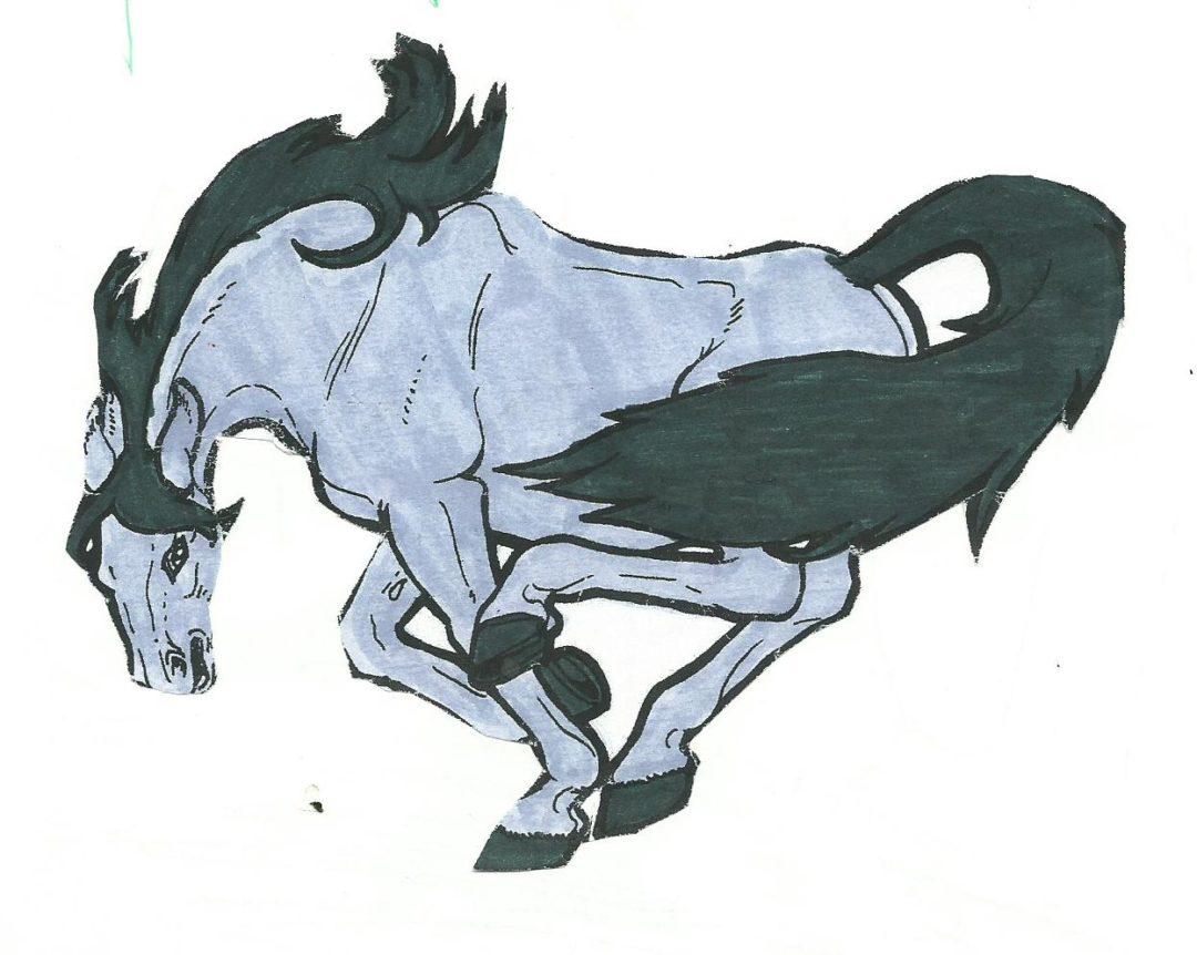 Cavalli di carta e colori l 39 auriga for Immagini cavalli da disegnare